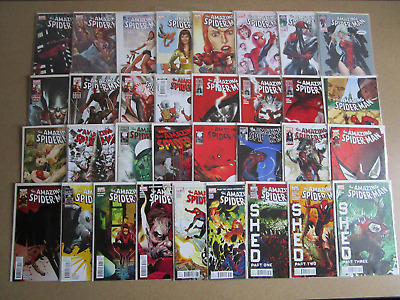 Amazing Spider-Man #600-700 Complete Set Run Lot of 101 VF/NM 606 607 611 654