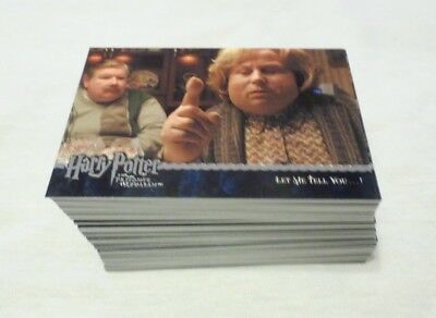 Artbox Harry Potter The Prisoner Of Azkaban Update 90 Card Base Set 91-180 QTY