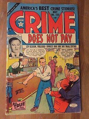 Crime Does Not Pay # 122 (1952)