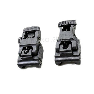 new Folding Front & Rear Flip-up71L-F/R Set Front & Rear Sight Set free delivery