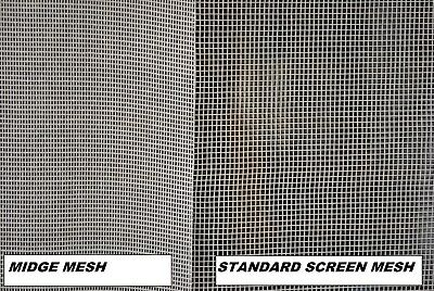 1200mm Midge, Sand Fly, Mosquito and small insect Fly Screen.+ Free 5mm spline