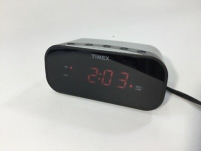 Timex Digital Alarm Clock Radio T235 Jumbo Display Instructions