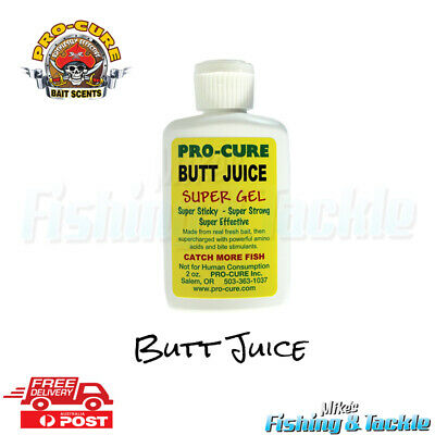 Pro Cure Butt Juice Super Gel Scent for Fishing Lures 2oz