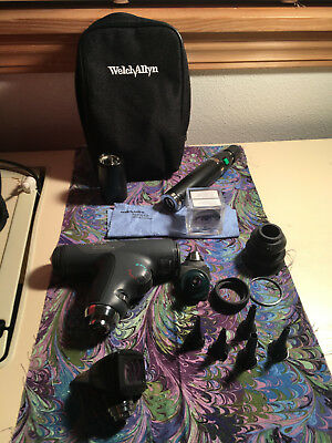 Welch Allyn Panoptic Ophthalmoscope Otoscope w/Rechargeable Lithium Ion Battery