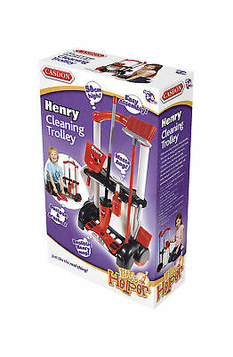 CASDON KIDS HENRY CLEANING TROLLEY -Pretend Play - Brand New