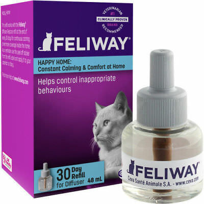 Comfort Zone with Feliway Calming Cat DIFFUSER REFILL (1 Pack) - Ships Free!