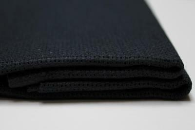 1 Pc Black Cotton Aida 11, 14, 16 and 18 ct 50 x 50 cm