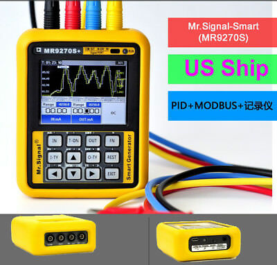 MR9270S 4-20mA Signal Generator Calibration Current Voltage Thermocouple+4 clips
