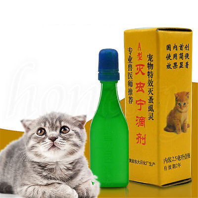 Kitten Pet Insecticide Flea Clear Lice Killer Spray Tick Treatment for Cats Dog
