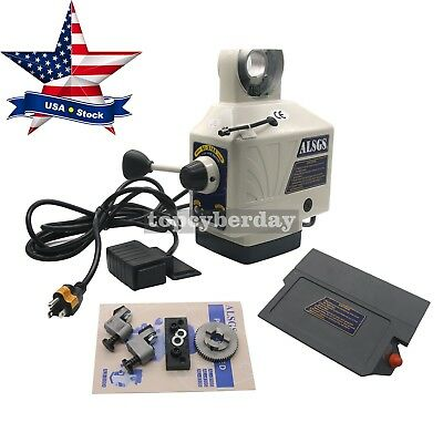 ALSGS 110V 220V Power Feed for Vertical Milling Machine XY-Axis AL-310SX US