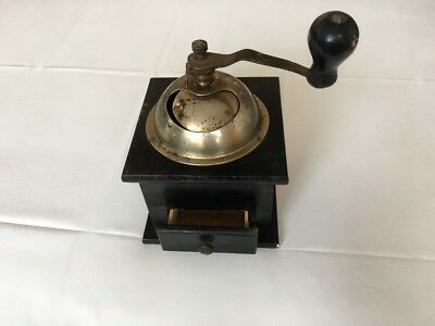 Black Vintage French Coffee Grinder