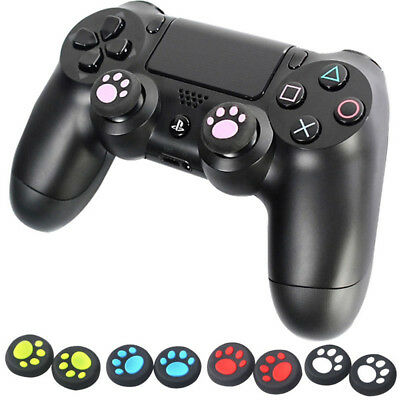 1 Pairs Cat's Paw Silicone Gel Thumb Grips Caps For Nintendo Switch Controller