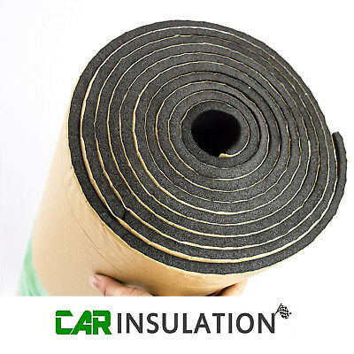 5m 6mm Roll Car Sound Proofing Deadening Camper Van Insulation Closed Cell Foam