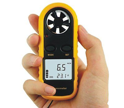 GM816 Hot Wire Anemometer Wind Meter Anemometer / Digital Anemometer