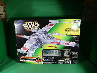 POTF2 Star Wars Electronic Power FX  X-Wing Fighter Raumschiff gross  in Box