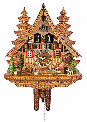 Engstler Quartz Cuckoo Clock - The Rocking Horse AH 4995 QMT NEW