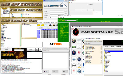 HOT 24Software for DPF, EGR, LAMBDA, DASH, AIRBAG, ECU, IMMO, DTC Remove, repair