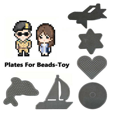 Template Perler Hama Beads Peg Board Pegboard Template Funny DIY Kid Puzzle Toy