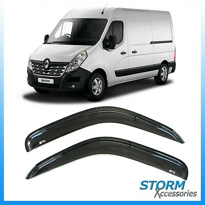 Renault Master 2011 On Stx Wind Deflectors - Wind Visors - External Fit