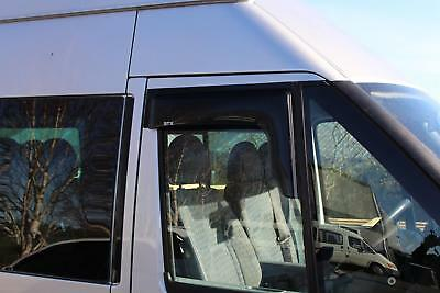 Ford Transit 2002-2014 Stx Wind Deflectors - Wind Visors - External Fit