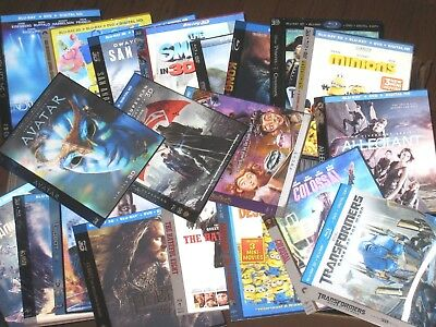 Blu Ray lenticular slipcover - Many to choose from (NO MOVIE DISC!)