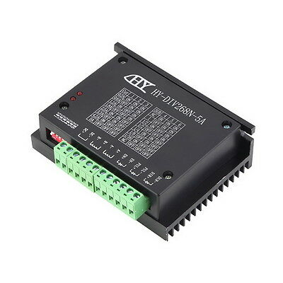 CNC Single Axis TB6600 0.2-5A Two Phase Hybrid Stepper Motor Driver Controlle H8