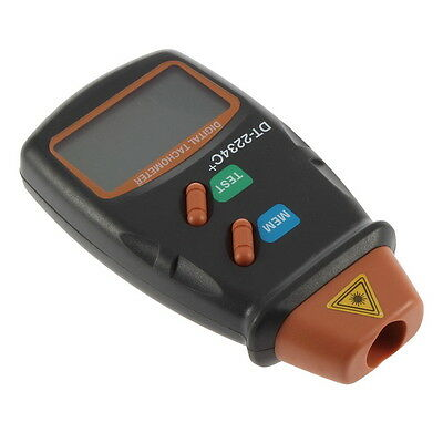 New Digital Laser Photo Tachometer Non Contact RPM Tach HX