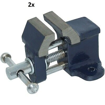 25mm Mini Baby Clamp Vice Table Top Cast Iron Small Benchwork Wood-Amtech -UK
