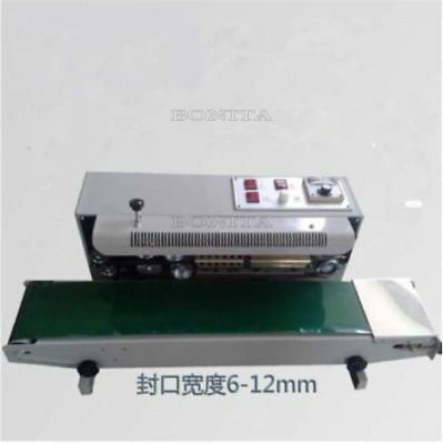 Horizontal Continuous Plastic Bag Band Sealing FR900 Automatic Sealer Machine