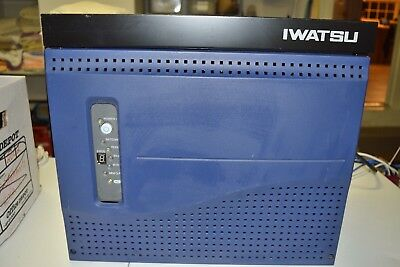 Phone System Iwatsu IX-CME phone system with 22 Omega phones (20 Blk, 2 Grey),
