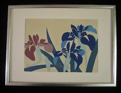 2 JAPANESE Woodblock Prints on Nippon Paper Hand Print