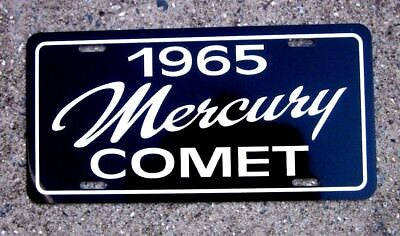 1965 Mercury Comet  License plate car tag 65 MERC sub compact