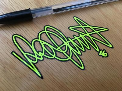 "Rossi ""THE DOCTOR"" Signature Decal"