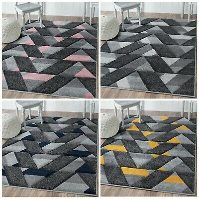 New Bright Modern Large Small Thick Quality Carved Mats Rugs Cheap Runner Rug