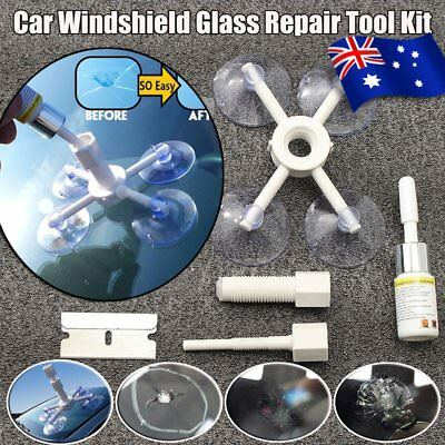 Auto Car Glass Windscreen Windshield For Chip Crack Bullseye DIY Repair Kit GY