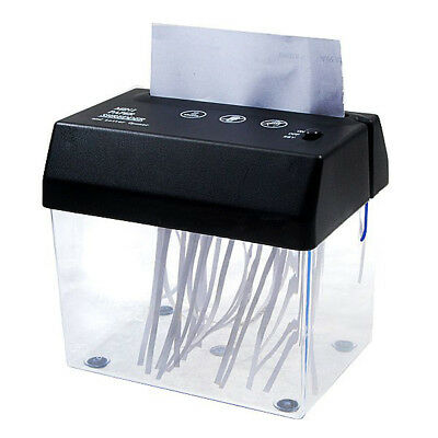Desktop A5 Or A4 Folded Paper Strip-cut Mini Small USB Shredder For Home/Of N1E3