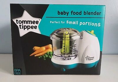 Brand New Tommee Tippee Baby Food Blender New Weaning Purees