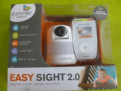 Genuine EXPOWER Summer Infant InView WideView Dual View Digital Color Monitor E9