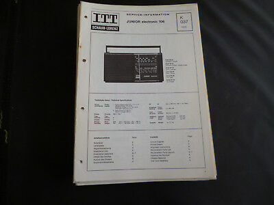 Original Service Manual Itt Graetz Super Touring 518 D Super Profi 618 D Tv, Video & Audio