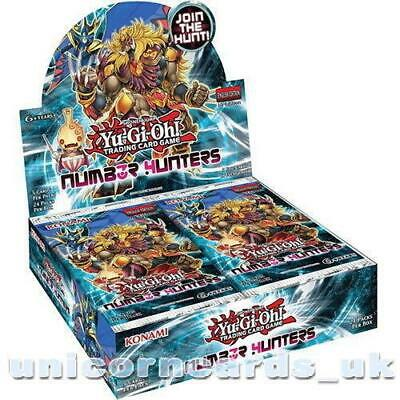 YuGiOh! Number Hunters UNL Edition New and Sealed Box x24 Boosters x5 Holofoil C