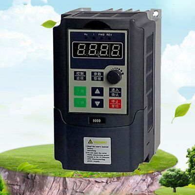 Mini Single Phase Frequency Converter Frequency Inverter Built-in User Timer VP