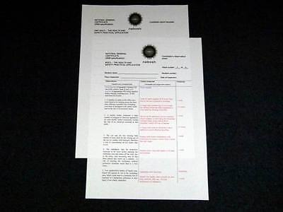 NEBOSH National General Certificate NGC3 Safety Practical Assessment High Score