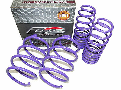 D2 Racing Lowering Springs for 12-17 Toyota Camry & 13-16 Avalon