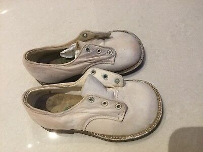 """Gold Beater"" Vintage Baby Shoes. Collectors"