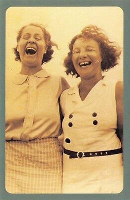 Nostalgia Postcard Laughing Competition, Sandown, Isle of Wight 1934 Repro NS52