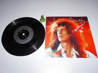 Brian May - Too much love will kill you (1992) Vinyl 7` inch Single Vg +
