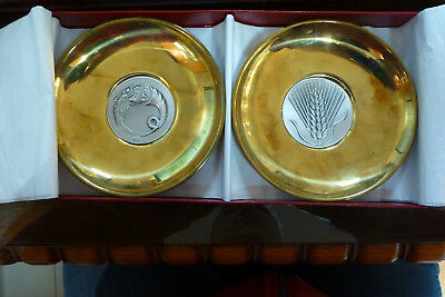 Vintage 2 Bowls Silver Lalaounis Set Staxy And Keras Amaltheias Papers