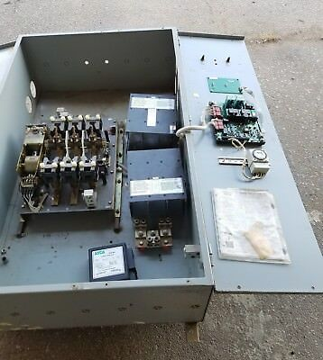 ASCO Automatic Transfer Switch, Series 300, 800 AMPS, 3 PH, 208V, 4 Wire