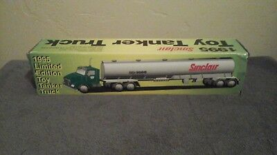 1995 Sinclair Toy Tanker Truck with Box Limited Edition