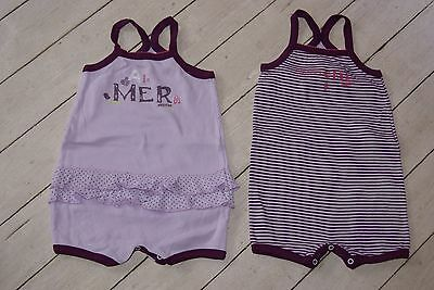 **£** 2 bodies/short ABSORBA 86cm/2ans